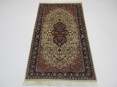 Dreamily beautiful Oriental carpet, 160 x 96 cm, in top condition, made in India