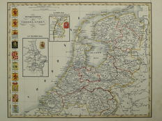 The Netherlands, Luxembourg; n.nl - The Kingdom of the Netherlands - ca. 1847