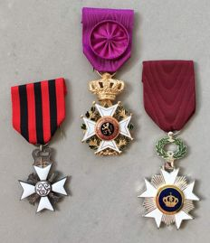 A small collection of civil medals