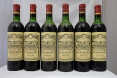 1970 Chateau Pedesclaux, Grand Cru Classe, Pauillac – 6 bottles