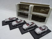 Regardez Minichamps - Scale 1/43 - Porsche 911 Turbo Set: 4 x Porsche 1976, 1991, 1997 & 2000