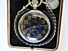Rolex - Military swiss gents' pocket watch {ref no 78}
