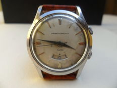 GIRARD PERREGAUX Alarm (alarm clock) Men's wristwatch. Early 1960s
