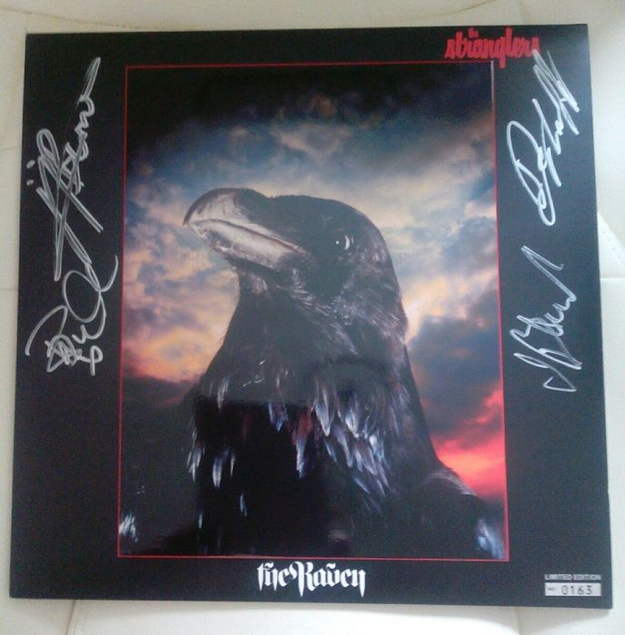 The Stranglers - The Raven Limited Edition Signed Vinyl LP