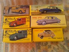 Dinky Toys /Atlas / Dan Toys - Scale 1/43 - Lot with 6 models