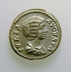 Roman Empire - Julia Domna - denarius - post 193 - certified