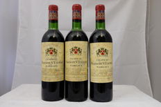 1971 Chateau Malescot-St-Exupery, Grand Cru Classe, Margaux – 3 bottles (75cl)