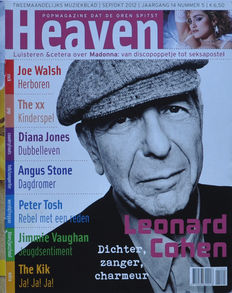 HEAVEN music magazines - 26 issues - 2002-2012 - R.E.M., Counting Crows; #5 (Leonard Cohen and more