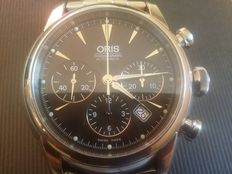 Oris Artelier Chronograph 676 7547 4054MB, men's wristwatch