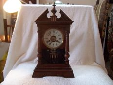 Junghans pendulum table clock – Late 1800s / early 1900s.