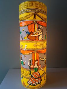 "Antonangeli for Fornasetti – lamp ""Commedia dell'Arte"", Follia Pratica series, medium 60 cm"