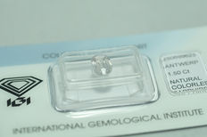 Colourless / White  Sapphire - 1.50 ct