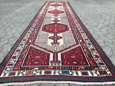 Handwoven, Persian SARAB runner with certificate of authenticity - approx. 466 x 106cm