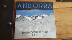 Andorra – Year pack Euro coins 2014