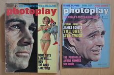 Photoplay (Film Monthly, Movies&Video), 16 issues '60s/'70s/'80s, Bond films