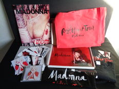 Madonna VIP Rebel Heart 30 Yr Tour Book Rare Promo Limited Edition Numbered!-Programme book-cd-photo`s and more !!