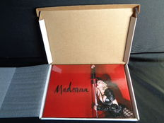 Madonna VIP Rebel Heart 30 Yr Tour Book Rare Promo Limited Edition Numbered ( 14331 )