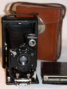 Demaria Lapierre Caleb with back and leather case - Lens Rysoor 6.8/105 mm - 1920