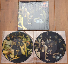 """The Jimi Hendrix Experience – Electric Ladyland 2lp/ Limited Edition Picture Disc pressing w. gatefold """"nude ladies"""" sleeve/ MINT"""