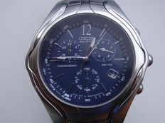 Citizen Eco-drive – Chrono – With alarms – For men – From 2000