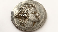 Greek Antiquity - Thrace. Thasos AR Tetradrachm, after 146 BC. Slightly barbarized