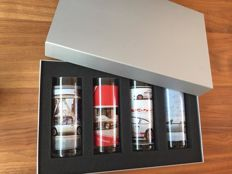 Porsche Design driver's selection - Original edition Porsche Set Longdrink glasses - 911 series - in mint condition.