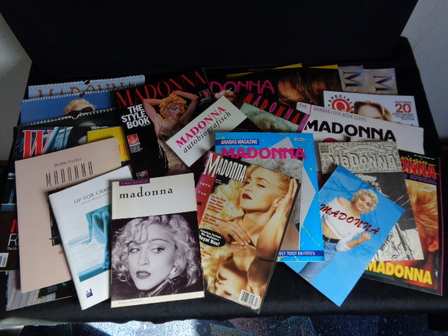 Madonna Collection: 24 Books/ Photo Books / Calendars.