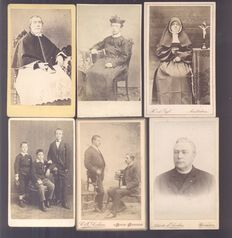 Portrait photographs from the Netherlands - 20 x - 1880/1910