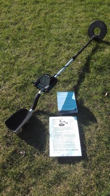 Ground Force 26 digital metal detector