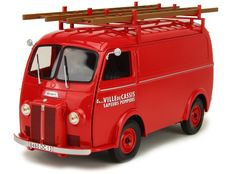 Norev - Scale 1/18 - Peugeot D4A City of Cassis Firefighters 1955