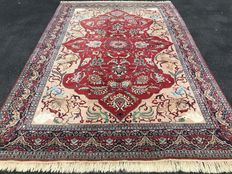 Large Pakistan Tabriz! Very valuable! Investment! Oriental carpet/ carpet hand-knotted