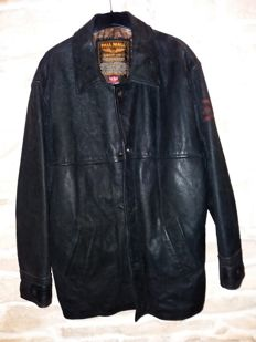 "Pilot-aviator ""Pall Mall"" leather jacket in very good condition"