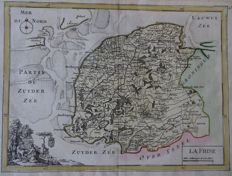 Friesland, Zevenwouden; Le Rouge / Ratelband erven - 2 copper engravings - 18th century