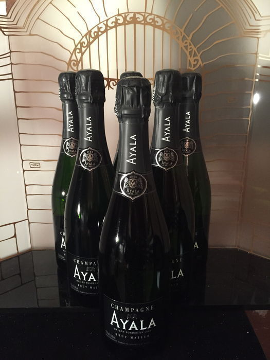 Ayala brut majeur - Champagne - 6 Bouteilles (0,75 L)