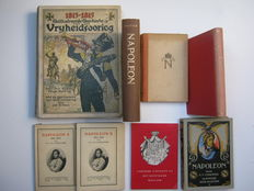 Napoleon;  Lot with 7 editions about the Napoleons - 1912/1959