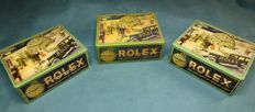 Triptych of Rolex Boxes – '60s