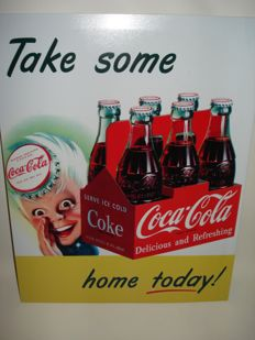 Coca-Cola advertising sign - Sprite Boy - Early 21st century