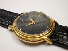 Raymond Weil  – Dress watch with date, 18 kt gold plated