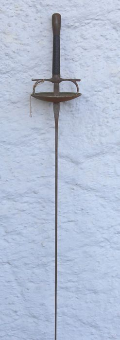Antique practice epee - around 1900, not polished, not pointed