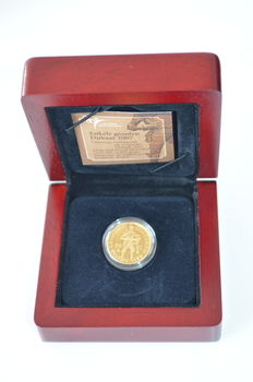 The Netherlands – ducat 2007, Beatrix – gold in coffer.