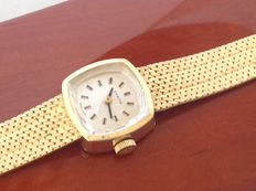 ZENITH yellow gold 14 kt women's watch from the 1960s