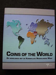 Europa  - Muntsets 'Coins of the World continent Europa' (25 verschillende) in album