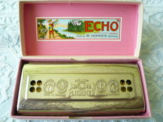 M. Hohner, the Eco Harp, mouth harmonica, made in Germany, in original packaging