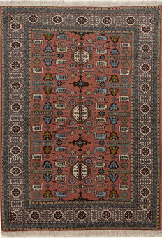 ARDABIL Persian / Handknotted/PERSIAN/Oriental/ ARDABIL 190 x 136 Iran Around 1970