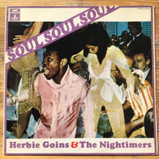 Herbie Goins & The Nightimers ‎– Soul Soul Soul