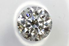 Brilliant geslepen diamant 0.30ct  F/SI1