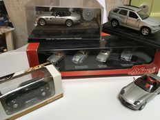 Schuco / Norev / Solido - Scale 1/43-1/72 - Lot with 8 models:  VW, BMW & Mercedes-Benz
