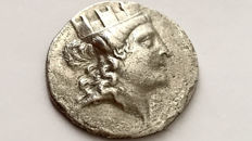 Greek Antiquity - Ionia, Smyrna AR Tetradrachm, c. 155-145 BC.