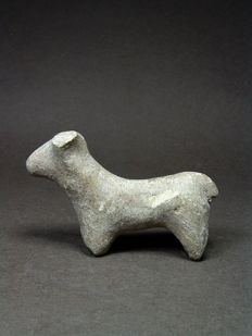 Ancient Near Eastern Terracotta Animal – H. 8 cm