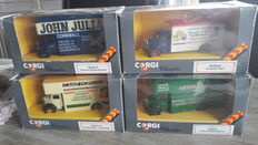 Corgi - Scale 1/50 - Lot with 6 Bedford O series Pantechnicon